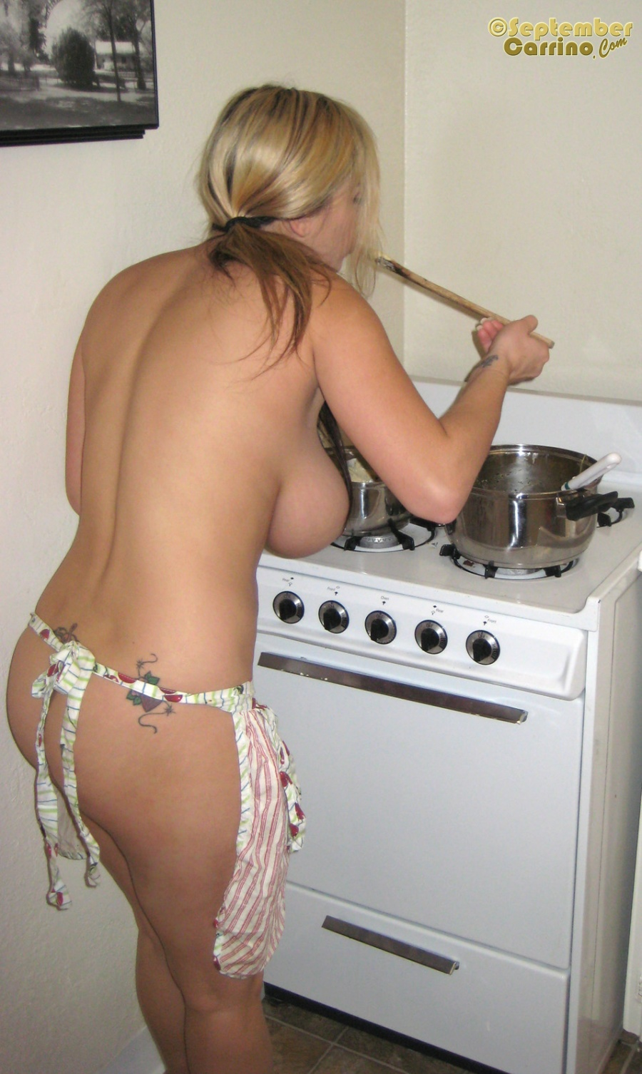 Naked Women Cooking Nude
