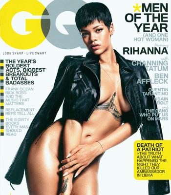 GQ Rihanna