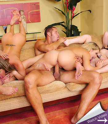 Naughty America 4some
